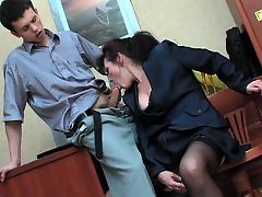 Young buy fucks mature broad and her young companion