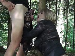 FUCKING IN THE WOODS