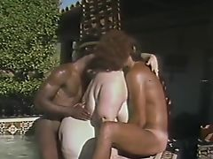 Retro BBW mature threesome