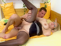 Horny pornstar in crazy mature, big tits xxx clip