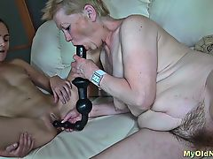 Lesbo Nanny with her enthusiast
