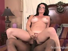 forty-one year old cougar cant get enough of big cocks