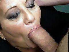 Mature Sucks & Gets Anal Fuck
