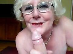 Granny suck  dick