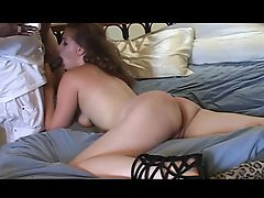 PAWG MILF Gwen gets 3BBCs in her mouth cunt ass Now in HD