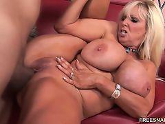 Mature slut Carol loves young cock