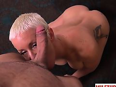Big tits milf titty fuck with cum on face