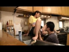 Japanese mom fucked by friend son 01