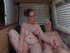 Granny and her man fucks
