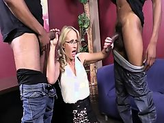 Simone Sonay Assfucked By Two BBCs In HD (720p)