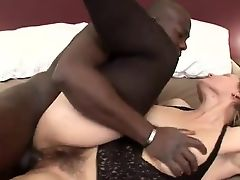Cocoa dude not far from oustanding rooster got laid giant Some mature Broad in Stockings