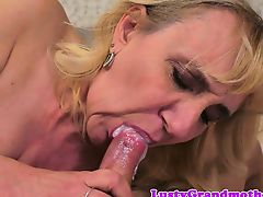 Busty mature seduces guy with big cock