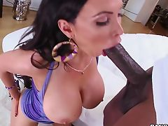 Nikki Benz gets dicked down by black dick