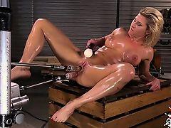 Hot pornstar double penetration with cumshot